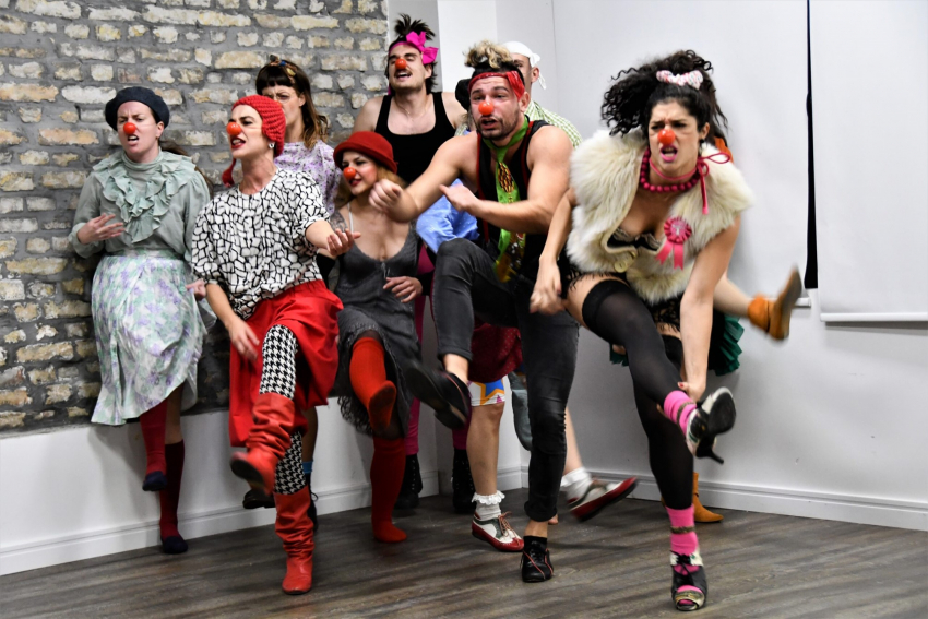 Novi Sad 2022, Lee Delong: A clown is a search for what is human