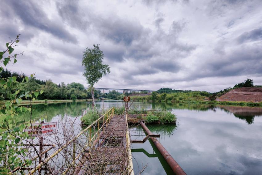 The photography celebrates Kaunas and Esch